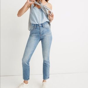 Madewell Perfect Vintage Jean Heart Patch Edition